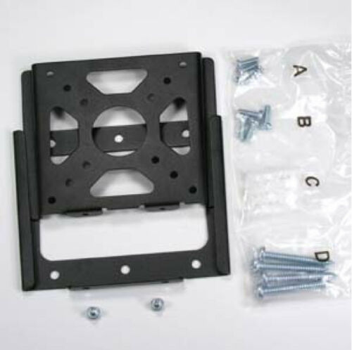 """Black 14-32/"""" Slim Low Profile Wall Mount Bracket for 77lbs LCD TV /& Monitor"""