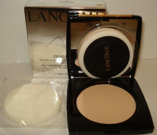 Lancome Dual Finish Multi Tasking Powder & Foundation NIB Choose your Shade ....