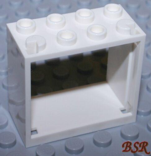 2 Stück weiße Fenster Rahmen 60594  2x4x3 /& NEU ! SK153