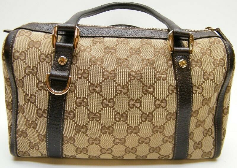 GUCCI GG MONOGRAM brown mini DOCTOR BOSTON HAND B… - image 6