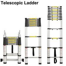 105 165ft Aluminium Multi Purpose Extension Folding Ladder Telescopic Steps