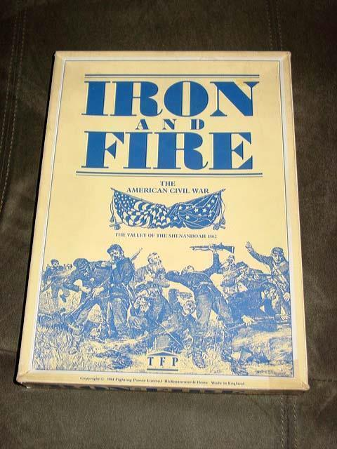 TFP Games 1984 - Iron and Fire - American Civil War at Shenandoah (UNPUN) RARE