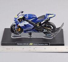 1/18 VALENTINO ROSSI Yamaha YZR-M1 #46 World Champion 2005 Motorcycle Bike Toy