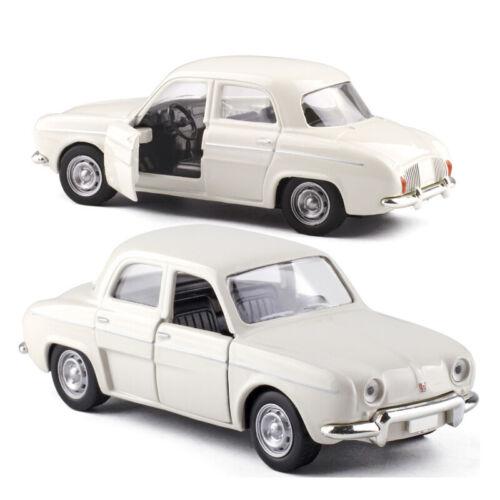 1:43 Willys Dauphine 1962 Metall Modellauto Auto Spielzeug Model Beige Sammlung