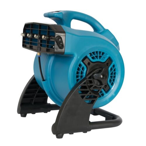 XPOWER FM-48  600 CFM 3-Speed Dog Boarding//DayCare Outdoor Cooling Misting Fan