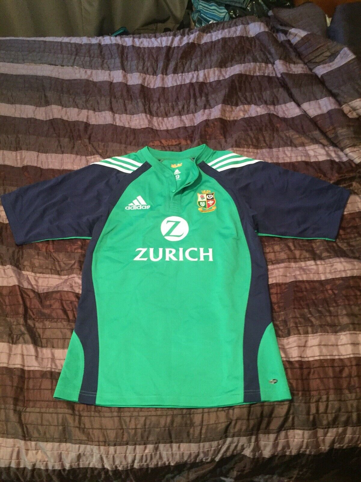 British Lions 2005 Players Training Jersey Size 9 Medium Fit