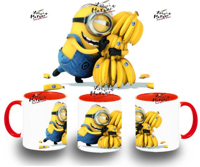 TAZA GRU MINIONS LOVE BANANA varios COLORES mug tazza tasse amor platanos coupe