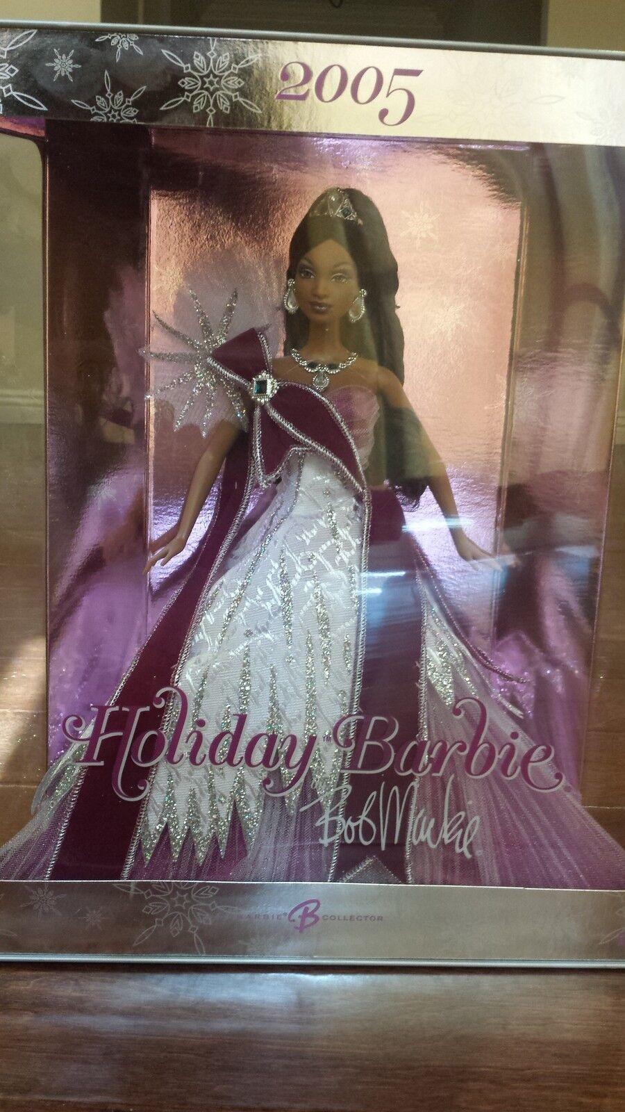 2005 Holiday Barbie By Bob Mackie-African American (BNIB)