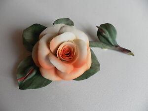 Rose Porzellan Formano Dekorose Tischdeko Hochzeit Geburtstag