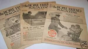 1920s-HOME-FRIEND-magazine-lot