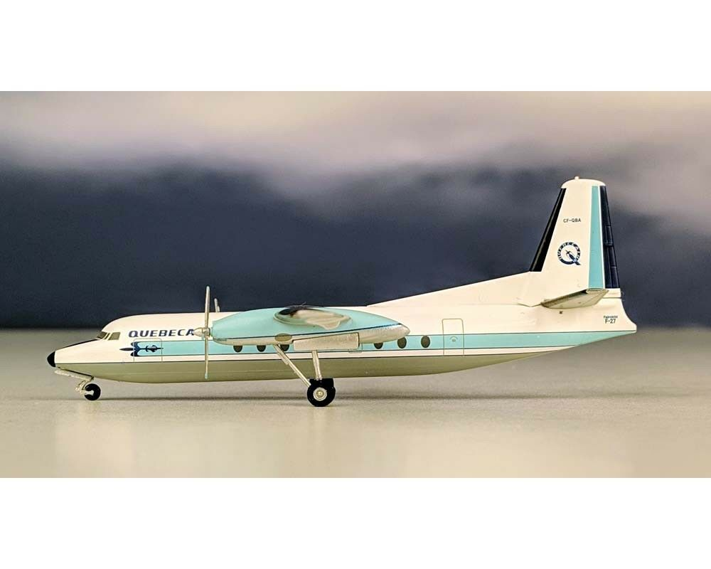 AEROCLASSICS QUEBECAIR F-27 CF-QBA 1 200 Scale AC219418