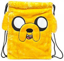 Backpack Adventure Time Jake Face Cinch Bag New