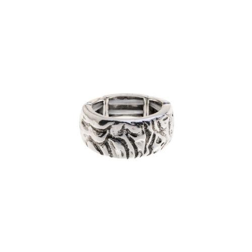 Ring Elastisch Damenring Gummizug Damen Größenverstellbar Trend Vintage Neu