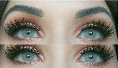 Gutscheincodes Bestpreis günstige Preise Farbige graue Silikon Kontaktlinsen mit ohne Stärke weich Jasmine grau  natürlich | eBay
