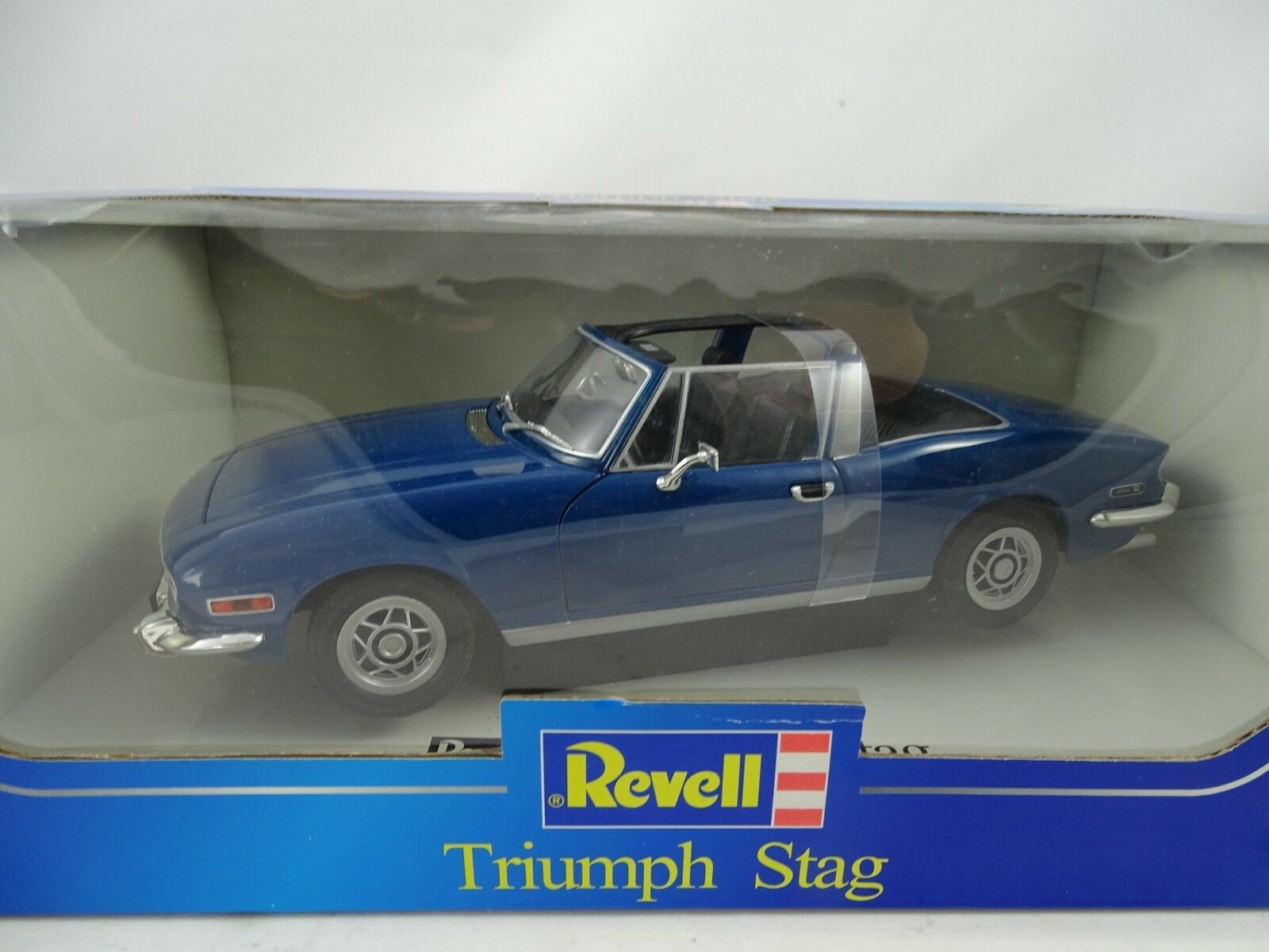 1 18 Revell Triumph Stag bluee - Rarity