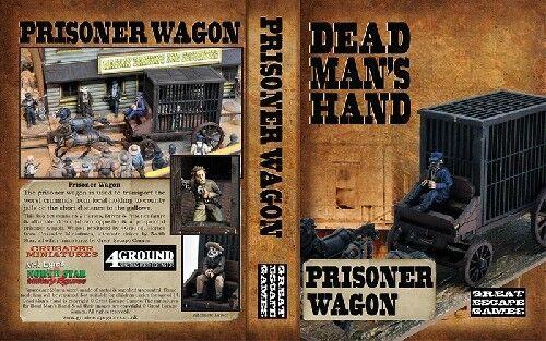 28mm Dead Man/'s Hand Prisoner Wagon Great Escape Games