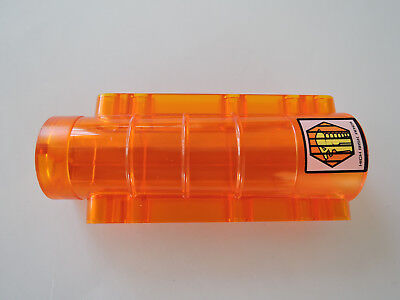 Lego 1 X Cylinder Bed Alien 58947pb02 Transparent Orange 9x4x2 Sticker 7699