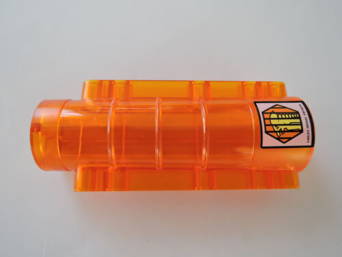 Lego 1 x Zylinder Bett Alien 58947pb01 transparent orange 9x4x2  7699 7694 7647