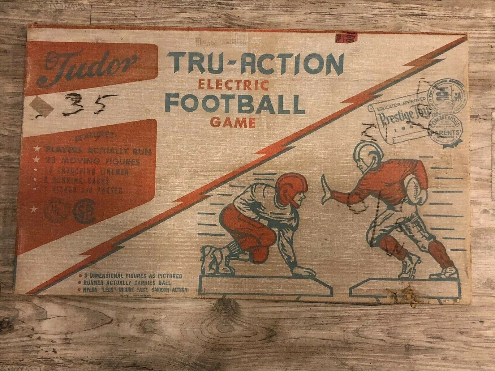 1950's Tudor Tru-Action Electric Football Game