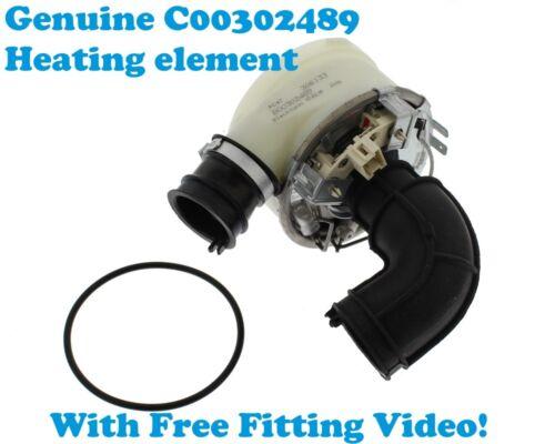 Hotpoint-Ariston Dishwasher Heating Assembly C00302489 Heater Element