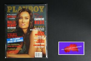 💎 PLAYBOY MAGAZINE:  JAN 2003 TIA CARRERE HALLE BERRY HOLIDAY ANNIVERSARY XX💎