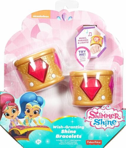 Shimmer /& Shine Wish octroi bracelets-rouge FLAT Batteries