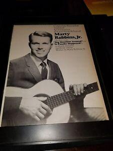 Marty Robbins, Jr. Big Mouthin' Around Rare Original Promo ...