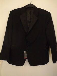 Dinner amp;s p Mens Luxury Black Range M £115 Chest Bnwt Jacket R 48