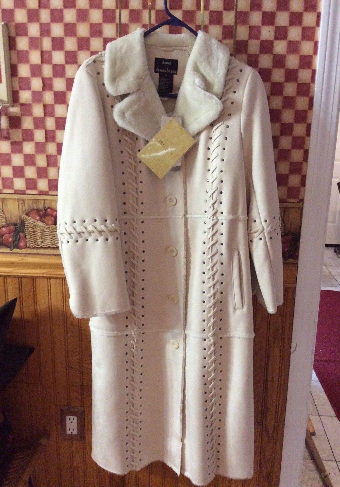DENNIS BRASSO QvC womens   Girls Xs Full Length Coat