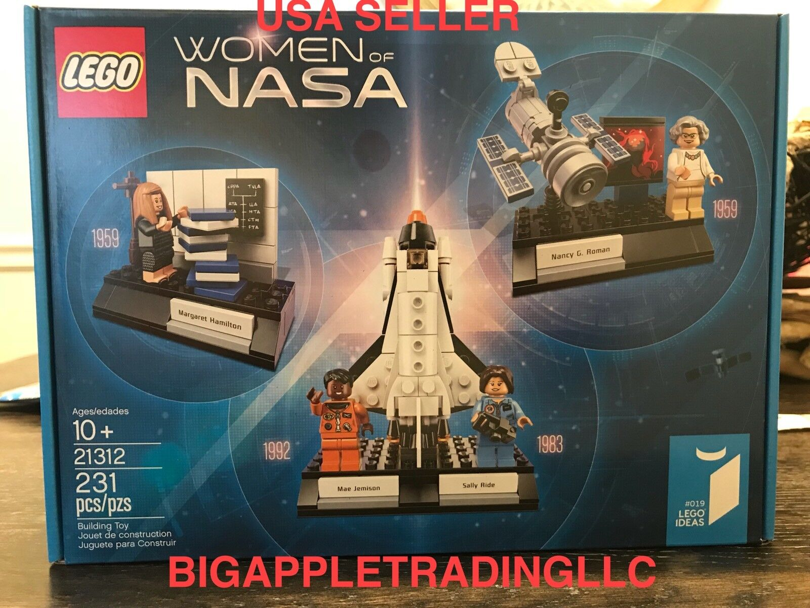 LEGO Damens of NASA Ideas 21312 Female Astronauts - New and Sealed - Ships Fast