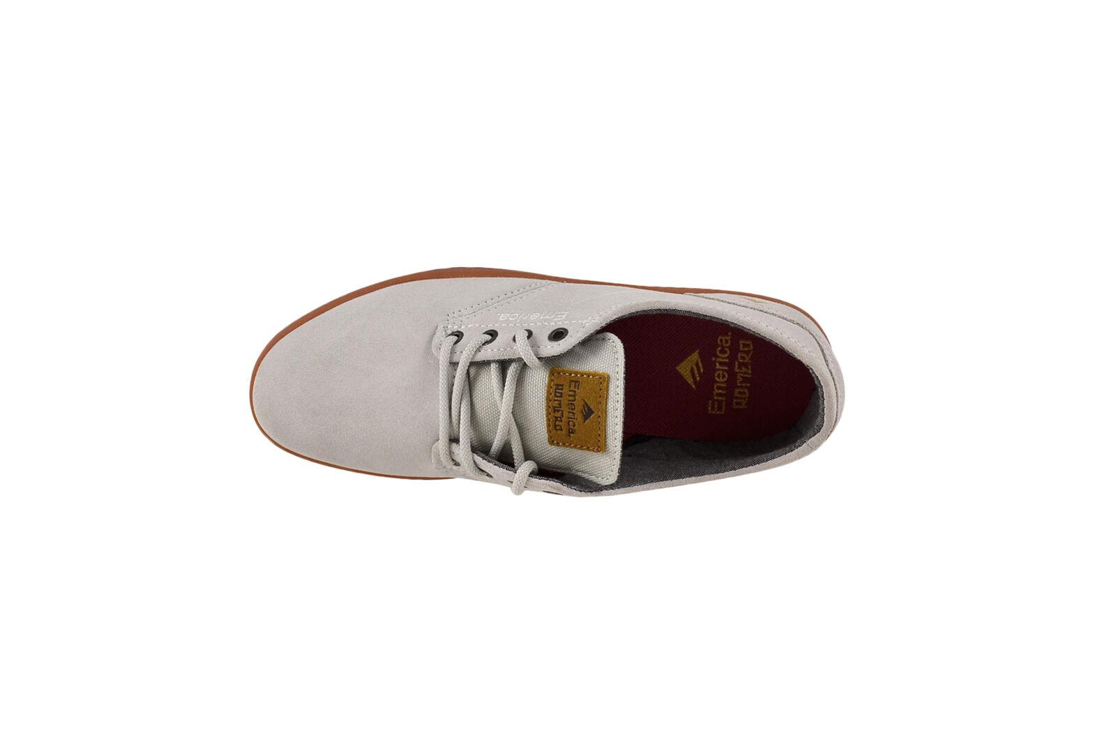 Emerica The Romero Schuhe Laced WEISS/gum Skater Sneaker Schuhe Romero weiß 114a8c