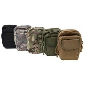 f9311a40f5bb Details about Outdoor Military EDC Bag Tactical Molle Waist Pack Nylon  Hunting Pouch Bags Q