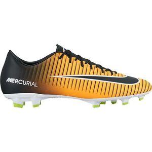 Nike Mercurial Victory VI FG 2017 Soccer Shoes Brand New Black ... b3f704003bfce