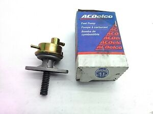 AC Delco Fuel Pump 42071  1982-1983 82-83 Chev S-10 Blazer GMC S-15 Jimmy