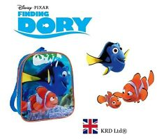 c8f3a7a14913 Disney FINDING DORY Kids JUNIOR BACKPACK School Bag Ruck Sack Bags Nemo  Gift NEW
