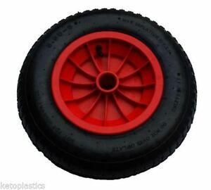 14 replacement puncture proof wheelbarrow wheel choose bore size ebay. Black Bedroom Furniture Sets. Home Design Ideas