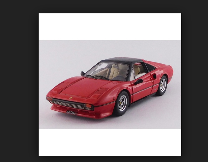 FERRARI 308 GTS  Gilles Villeneuve personal auto  143 9717