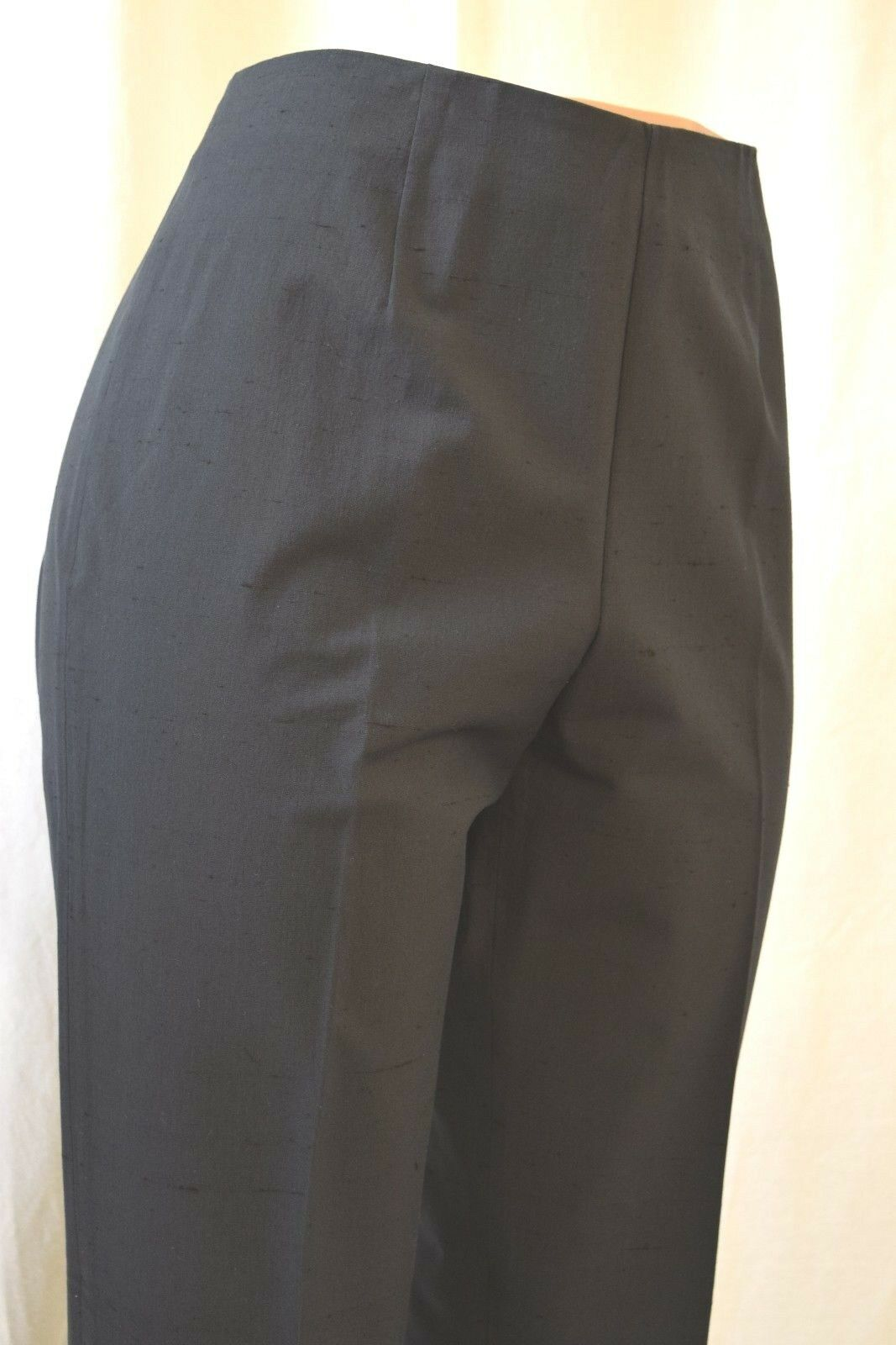 LEGIADRO TENCO COTTON BLENDON SIDE ZIPER DRIVER PANTS storLEK 12 \\35;LE017