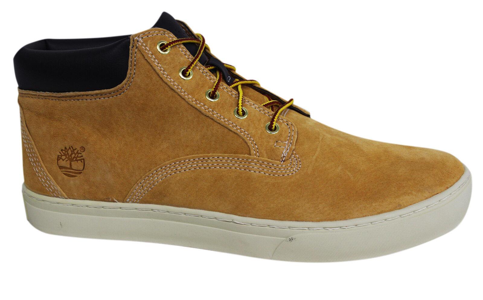 Details zu Timberland Dauset Chukka Leder Herren Stiefel Schnür Schuhe Weizen A1613 B86E