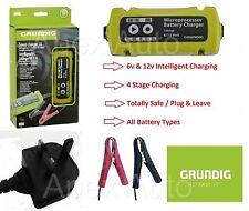 1.0A Grundig Smart Battery charger Conditioner 6V 12V BIKE QUAD KIT CAR JET SKI