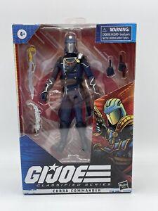 "GI Joe Classified Series Cobra Commander  6"" In HandREADY2HIP!"