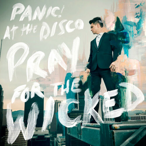 "Panic at the Disco Pray for the Wicked Album Poster 32x32/"" 24x24/"" 18x18/""  Silk"
