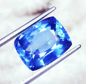 11.42 Ct Loose Gemstone Natural Blue Sapphire Ring Size Transparent Certified