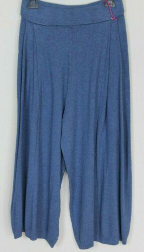 Femmes Italien Lagenlook Knitted 2 Pocket Harem Baggy Coupe Large Pantalon Pantalon