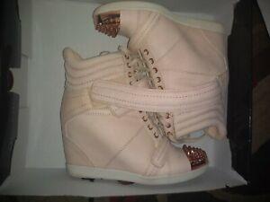 Boutique 9 Nevan Wedge Sneakers Hi Cut
