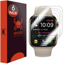 6x Skinomi Clear Screen Protector for Apple Watch Series 4 (40mm) Slim Design