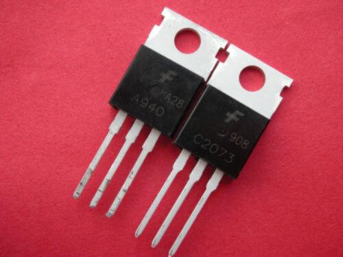 A940 AMP Output Transistor FSC 2SA940 2SC2073  PCE C2073