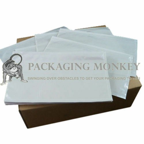 1000 x DL Plain Document Enclosed Wallets Envelopes