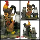 Rooster Shaker Salt Pepper Kitchen Decorative Chicken Sculptures Gifts Beautiful