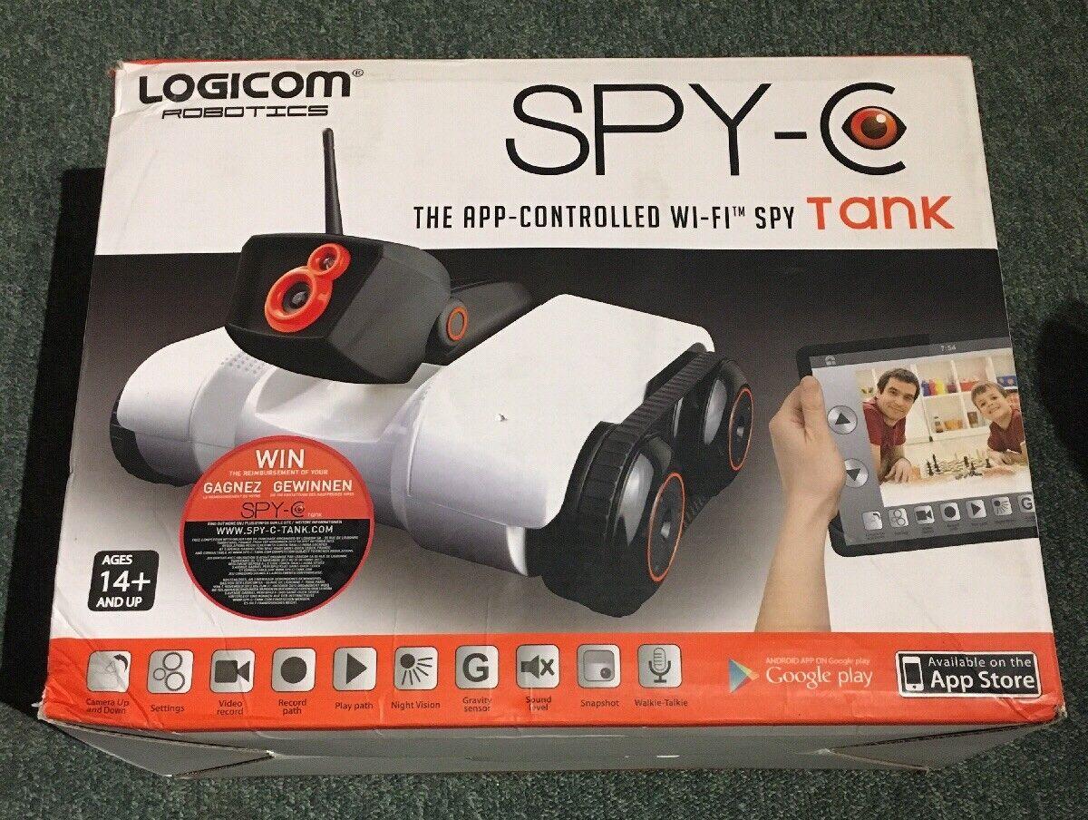 Logicom App Controlled Wireless Spy-C- Spy-C- Spy-C- Tank 19c37a